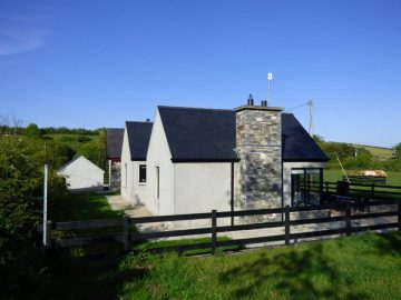 Muckno Lodge Cottage Photos - Back of House