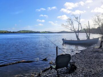Fishing at Lough Muckno, Muckno Lodge Self Catering