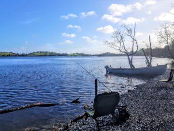 Fishing at Lough Muckno, Muckno Lodge Self Catering