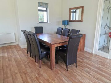 Muckno Lodge Photos - Dining area